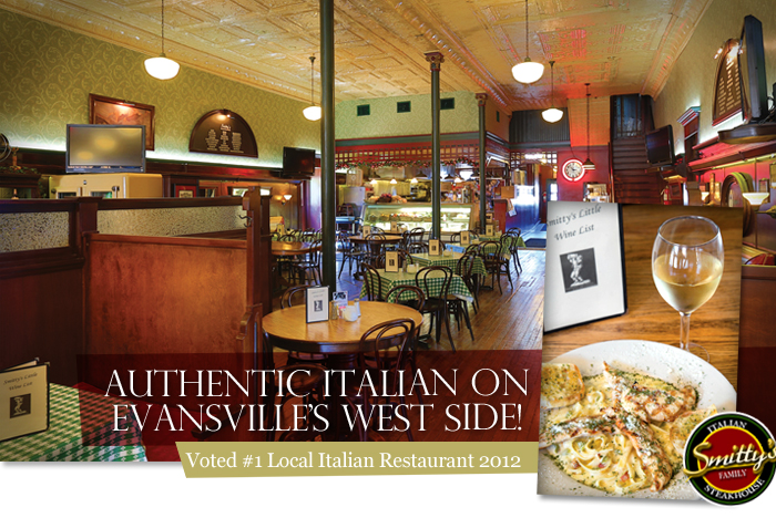 Smitty S Italian Steakhouse Is Located On Franklin Street Near St Joe Ave Evansville West Side From Authentic Cooking To A Relaxed